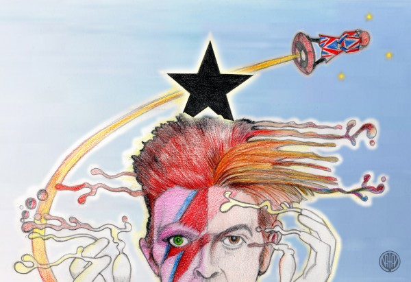 """Bye, Mister Blackstarman"" 10.1.2016"