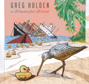 Greg Holden US Spring Tour | Poster design