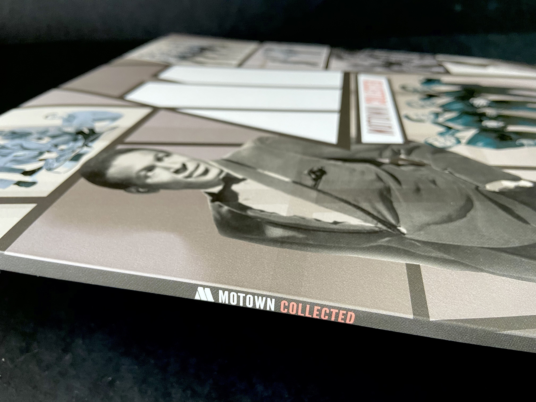 Motown Collected Spine